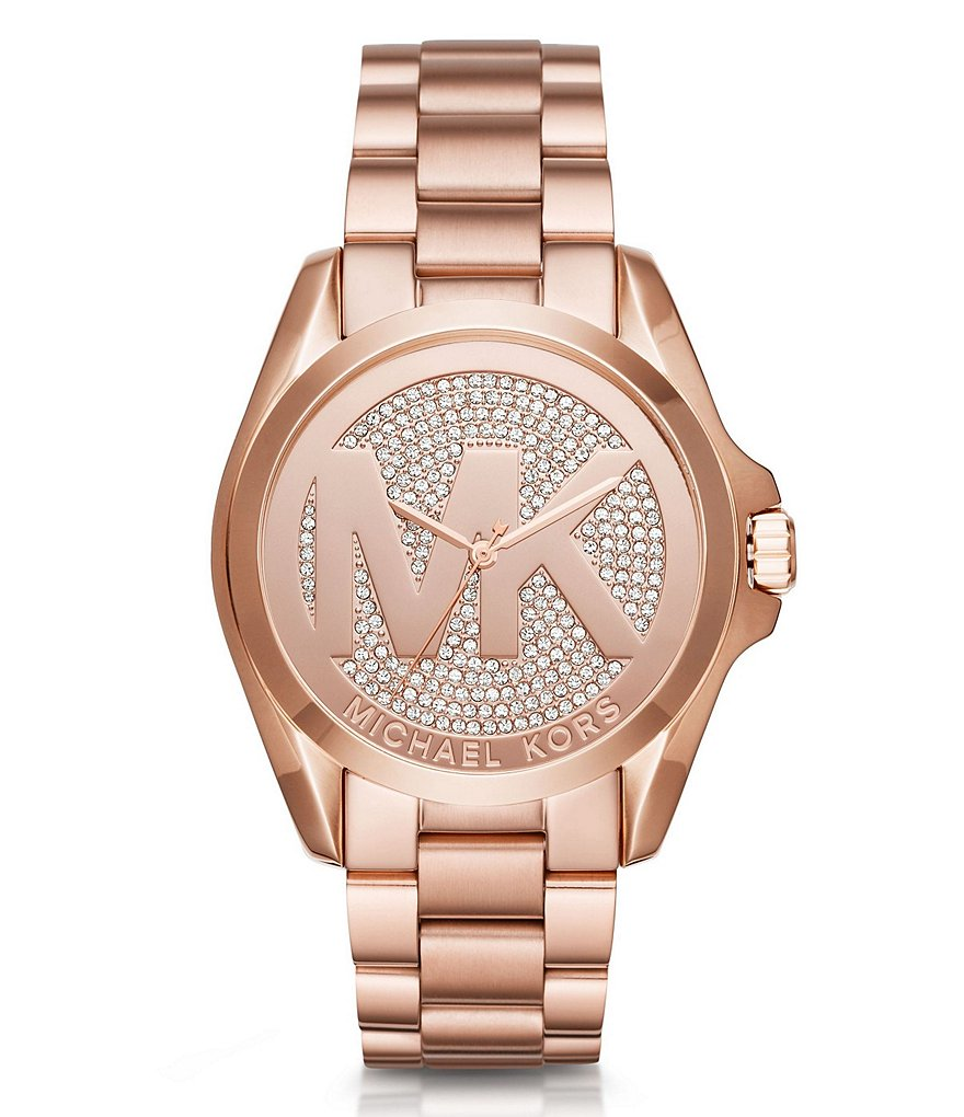 Michael Kors Bradshaw Three-Hand Bracelet Watch