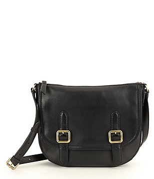 Frye Claude Leather Saddle Bag