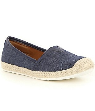 Montana Soto Denim Slip-On Espadrilles