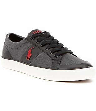 Polo Ralph Lauren Men´s Ian Vintage Cotton Lace-Up Sneaker