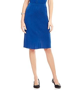 Ming Wang Pull-On Pencil Skirt