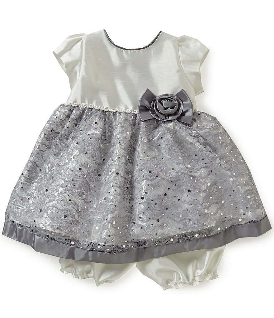 Jayne Copeland Baby Girls 12-24 Months Lace-Detailed Dress
