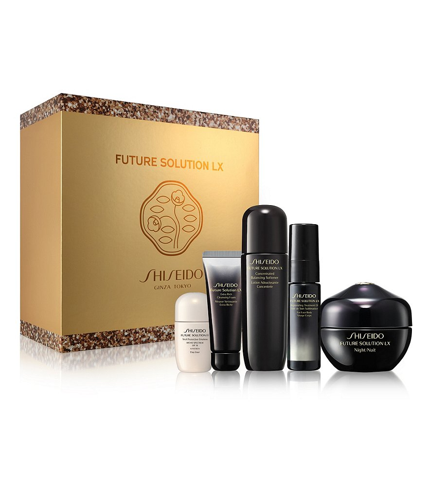 Shiseido Future Solution LX Luxurious Regenerating Collection