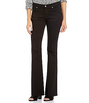 James Jeans Bella 5-Pocket Flare Denim Jeans