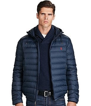 Polo Ralph Lauren Big & Tall Hooded Packable Down Jacket