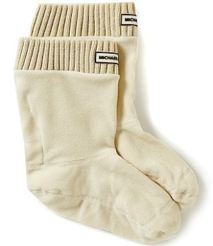 MICHAEL Michael Kors MK Ribbed Short Socks
