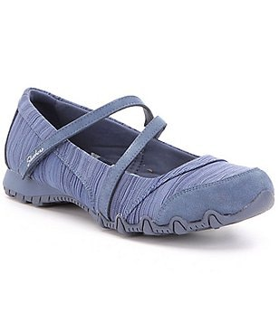 Skechers Bikers-Ripples Knit Double Banded Mary Janes