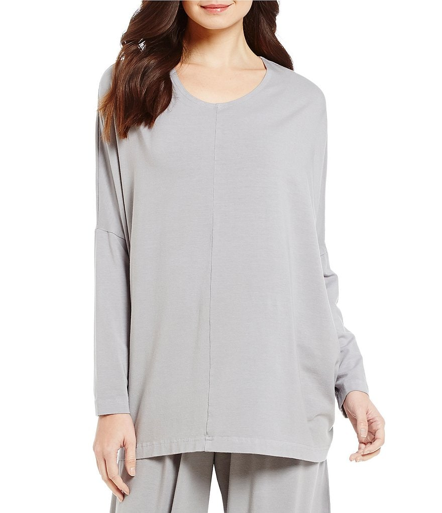 Bryn Walker Alan Crew Neck Long Sleeve Tunic