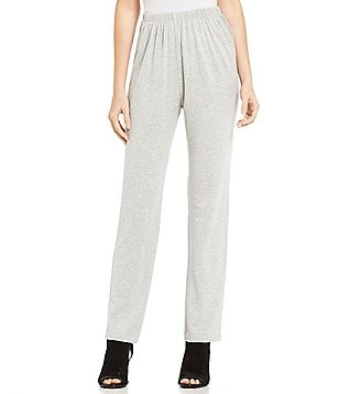Bryn Walker Slim French Terry Elastic Waist Pants