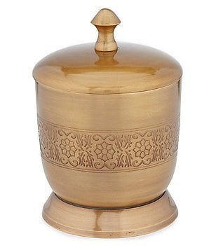 Noble Excellence Tangier Antique Brass Jar