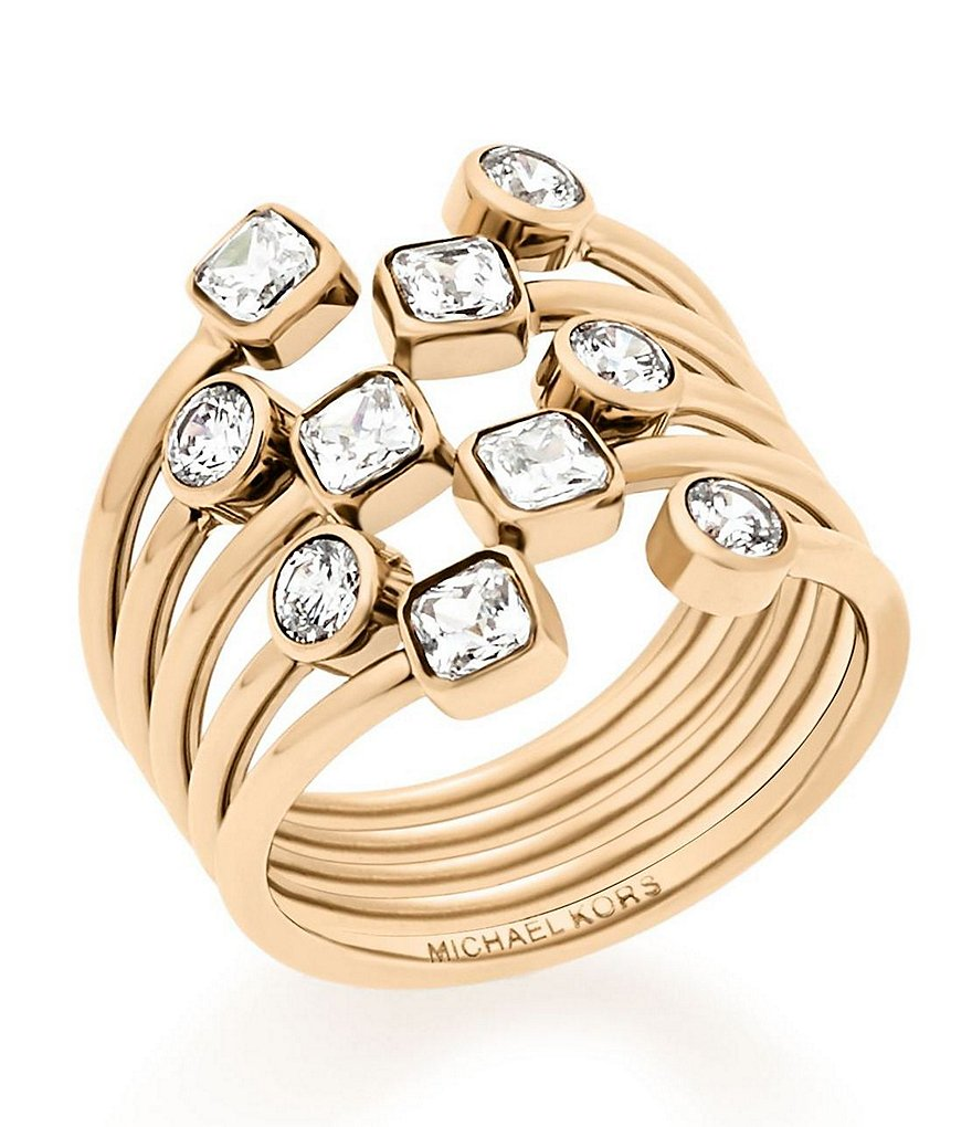 Michael Kors Cubic Zirconia Statement Ring