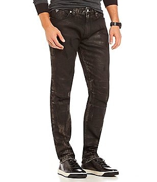 Guess Slim Tapered Motorcycle Jeans