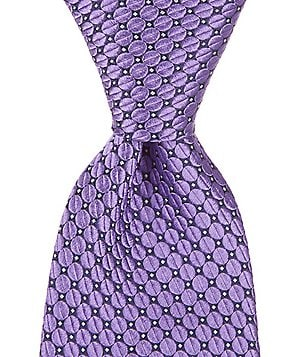 Hart Schaffner Marx Egg Drop Dotted Traditional Silk Tie