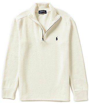 Ralph Lauren Childrenswear Big Boys 8-20 Long-Sleeve Knit Half-Zip
