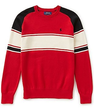 Ralph Lauren Childrenswear Big Boys 8-20 Bold-Stripe Sweater
