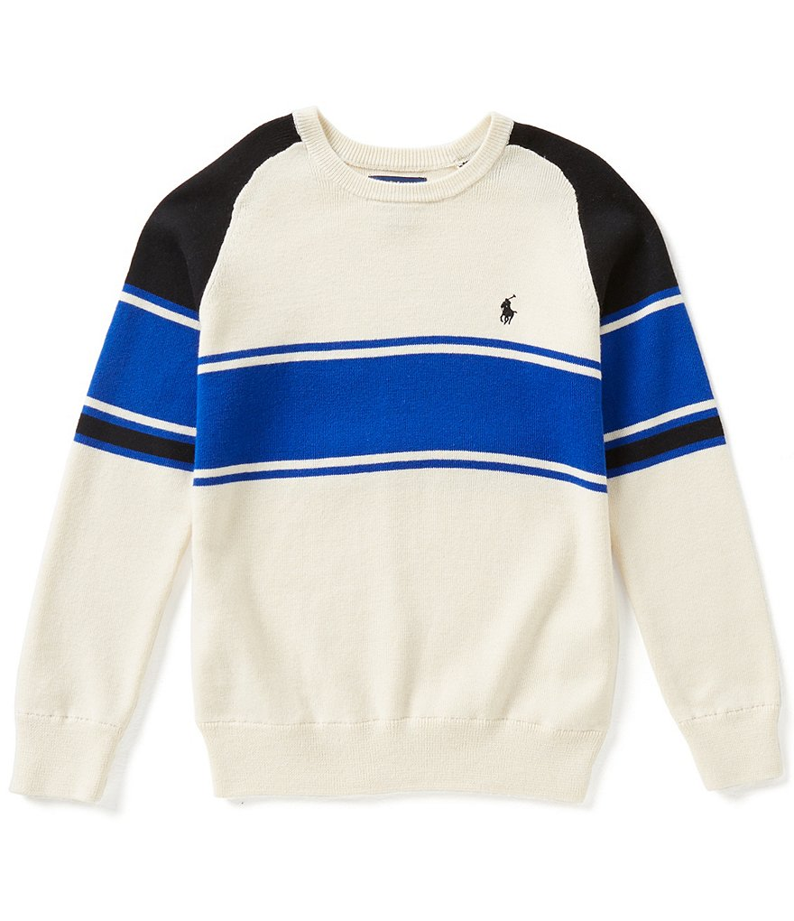 Ralph Lauren Childrenswear Little Boys 5-7 Bold-Stripe Sweater