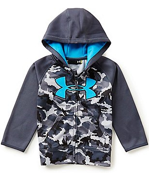 Under Armour Little Boys 2T-7 Arid Camouflage/Color Block Big Logo Hoodie