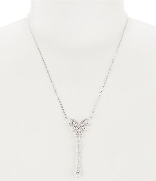 Nadri Faerie Cubic Zirconia Y-Necklace