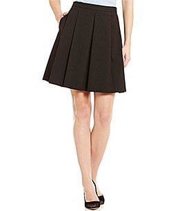 Antonio Melani Jeni Quilted Suiting Skirt Image