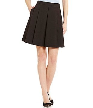 Antonio Melani Jeni Quilted Suiting Skirt