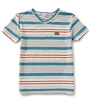 Lucky Brand Little Boys 4-7 Desert Striped Short-Sleeve Tee