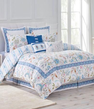 Dena Home Sky Floral Amp Ikat Comforter Mini Set Dillards