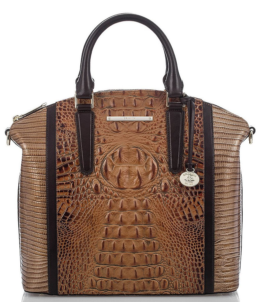 Brahmin Bengal Collection Large Duxbury Satchel