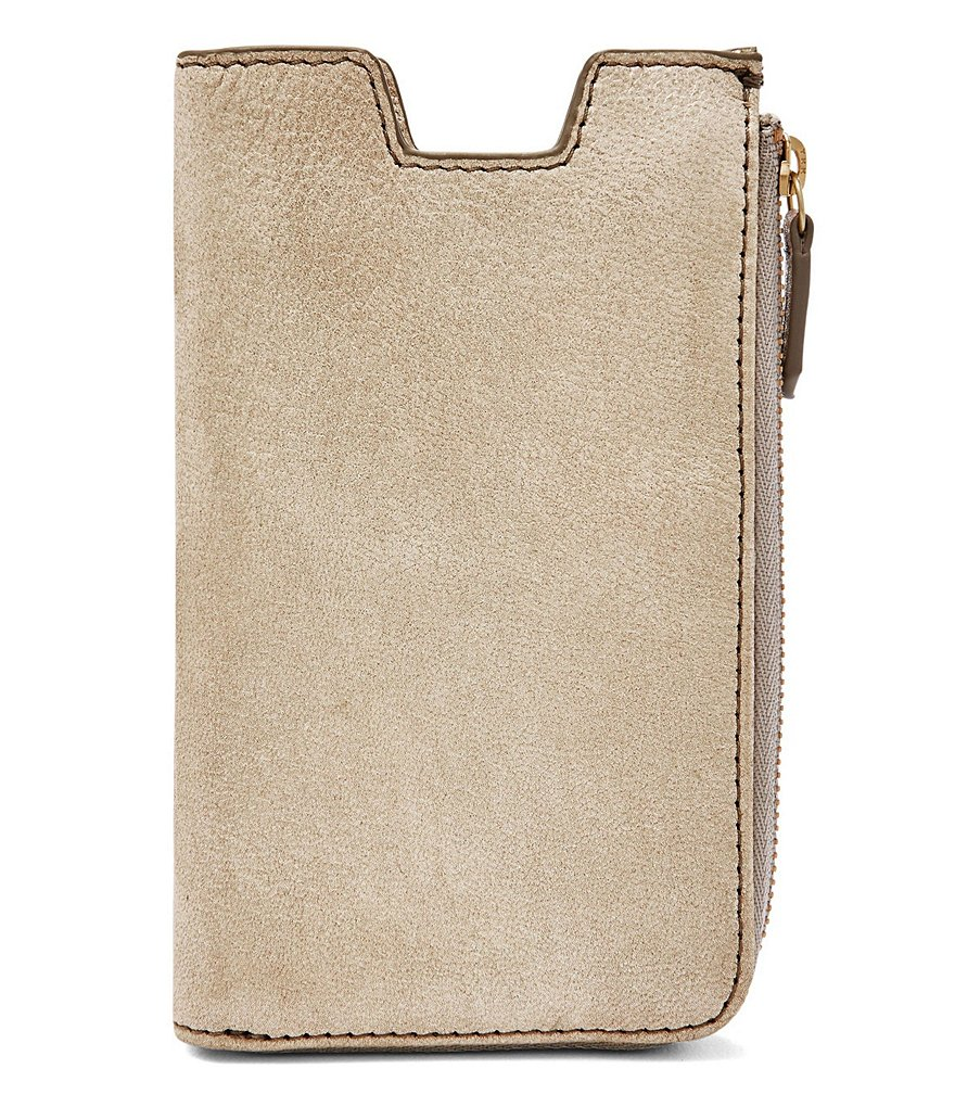 Fossil Metallic Phone Sleeve Wallet