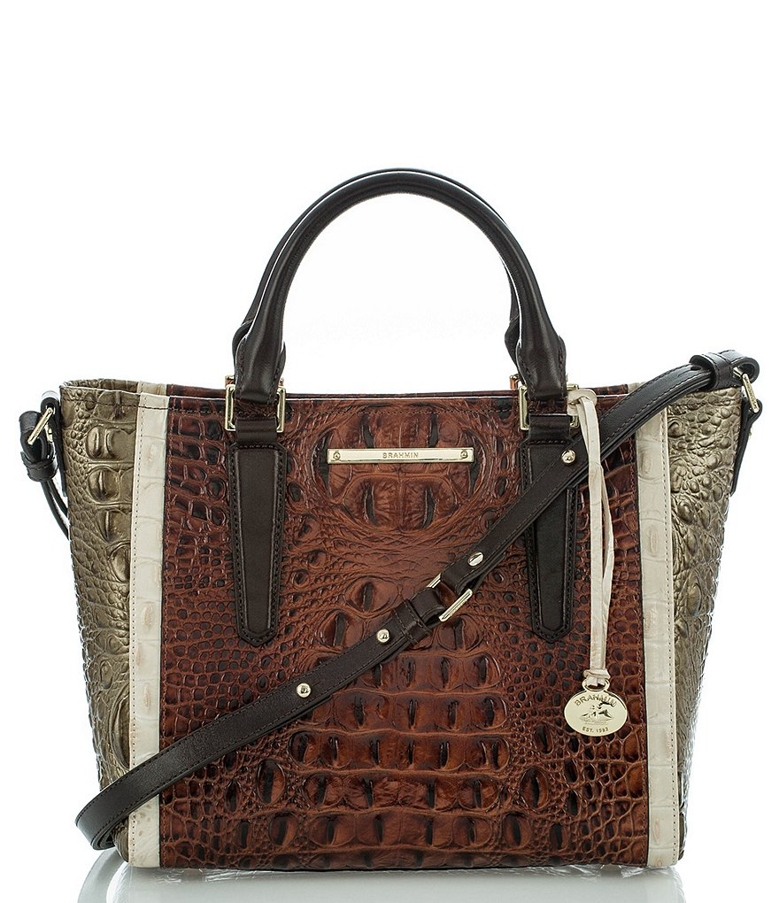 Brahmin Azuma Collection Mini Arno Satchel