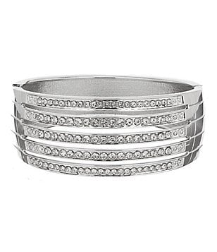Anna & Ava Multi-Row Statement Bangle Bracelet