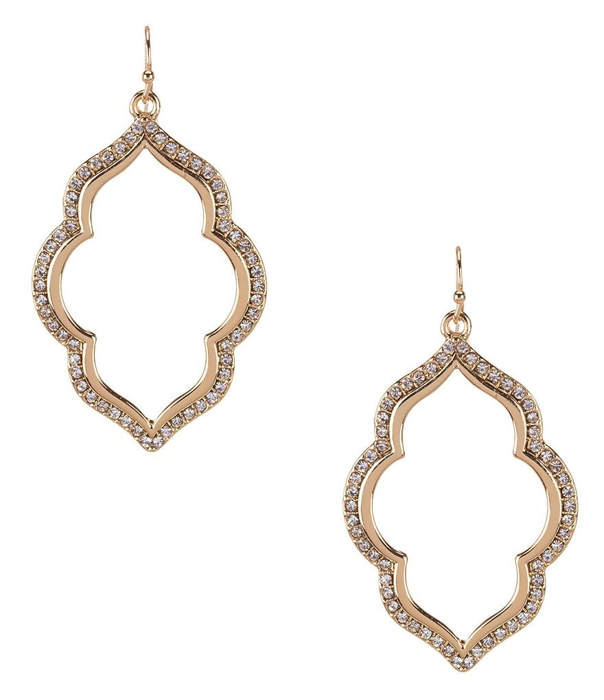 Anna & Ava Pavé Drop Earrings