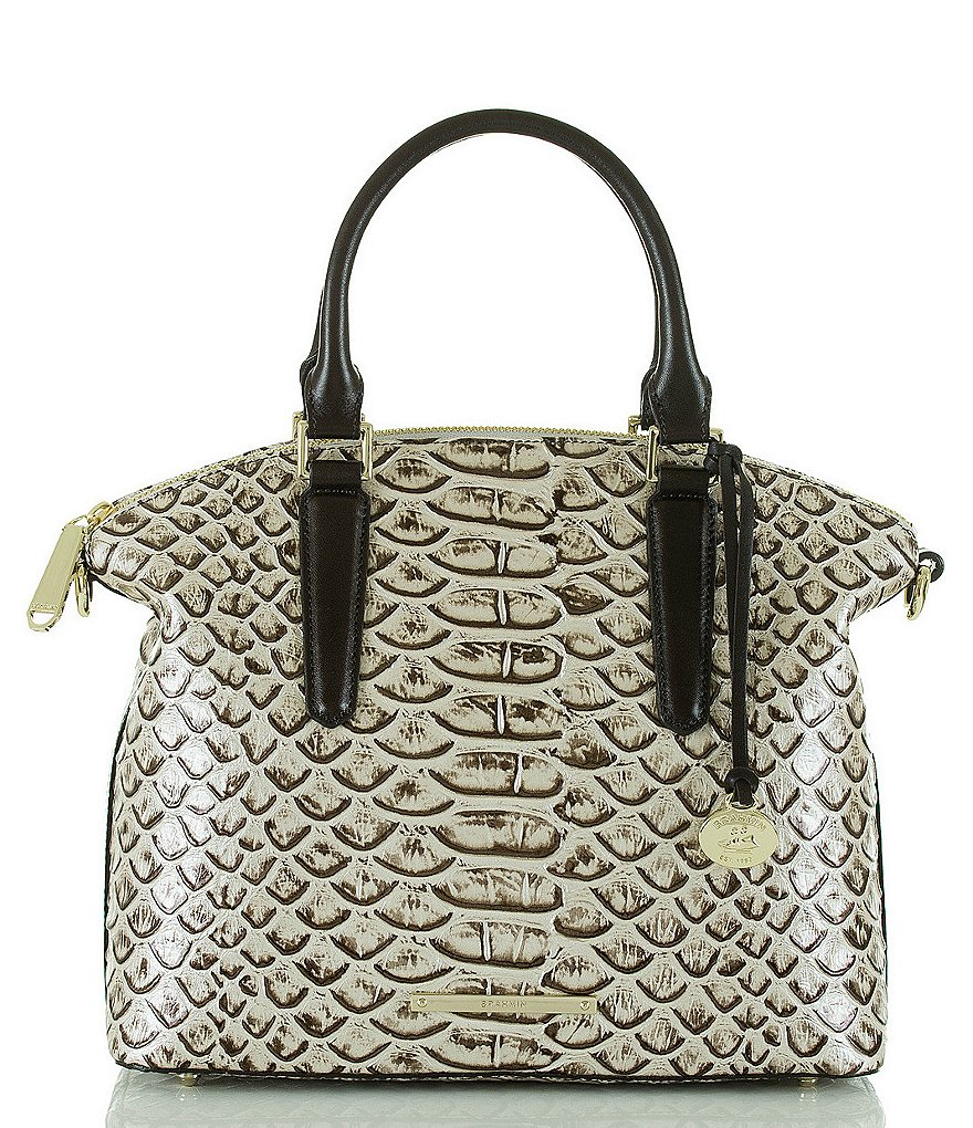 Brahmin Dogwood Collection Duxbury Satchel