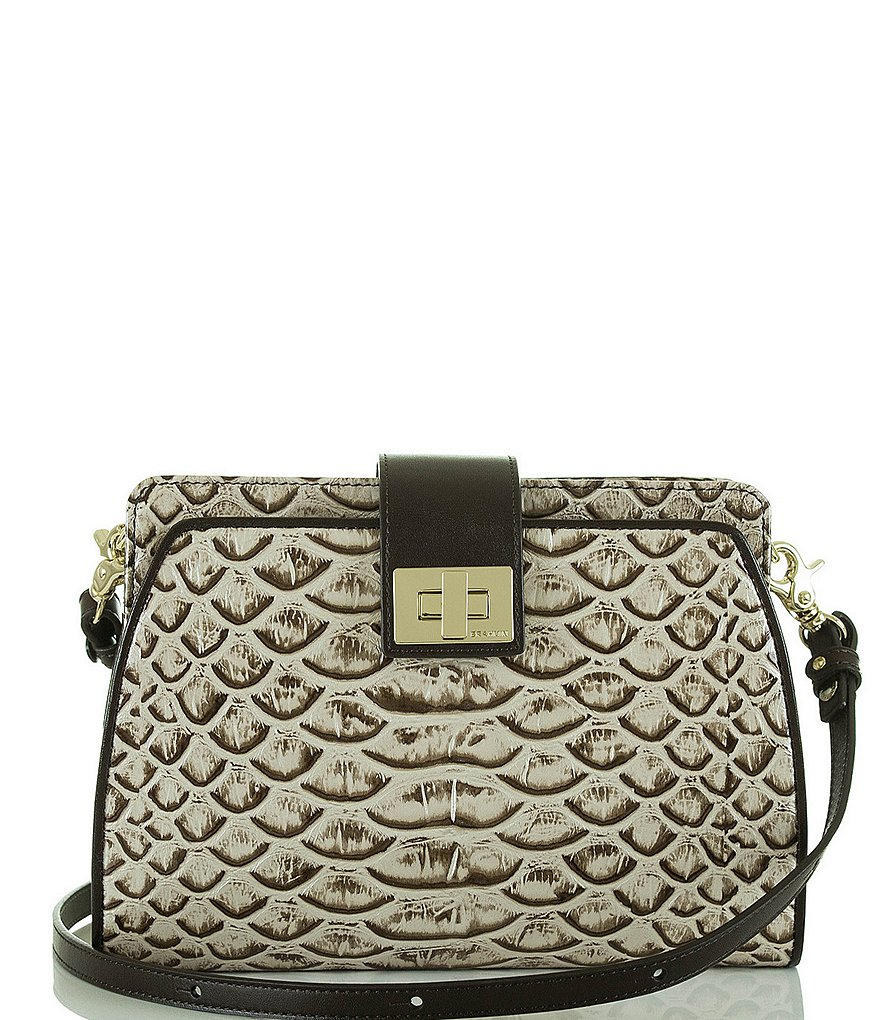 Brahmin Dogwood Collection Alena Cross-Body Bag