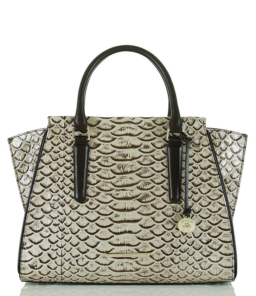 Brahmin Dogwood Collection Priscilla Satchel