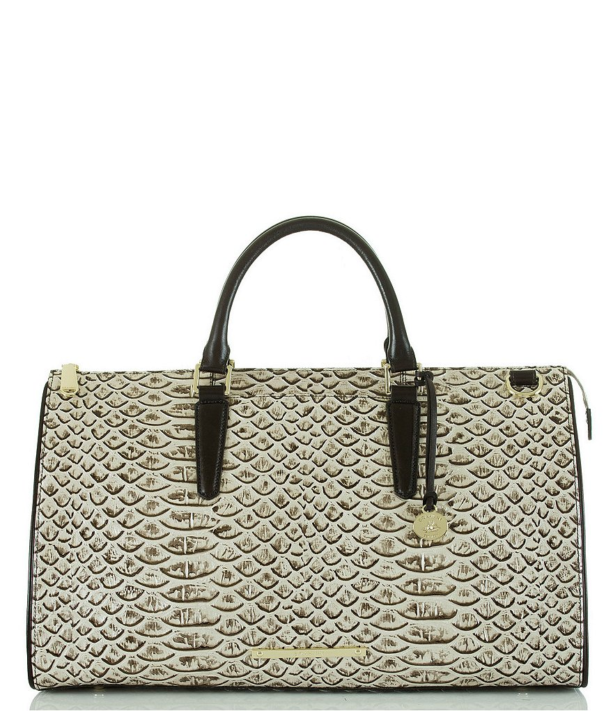 Brahmin Dogwood Collection Anywhere Weekender