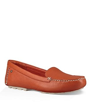 UGG® Milana Leather Slip-On Loafers