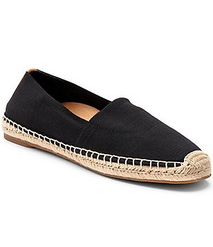Vionic Coast Valeri Stretch Textile Jute Wrapped Slip-On Espadrilles