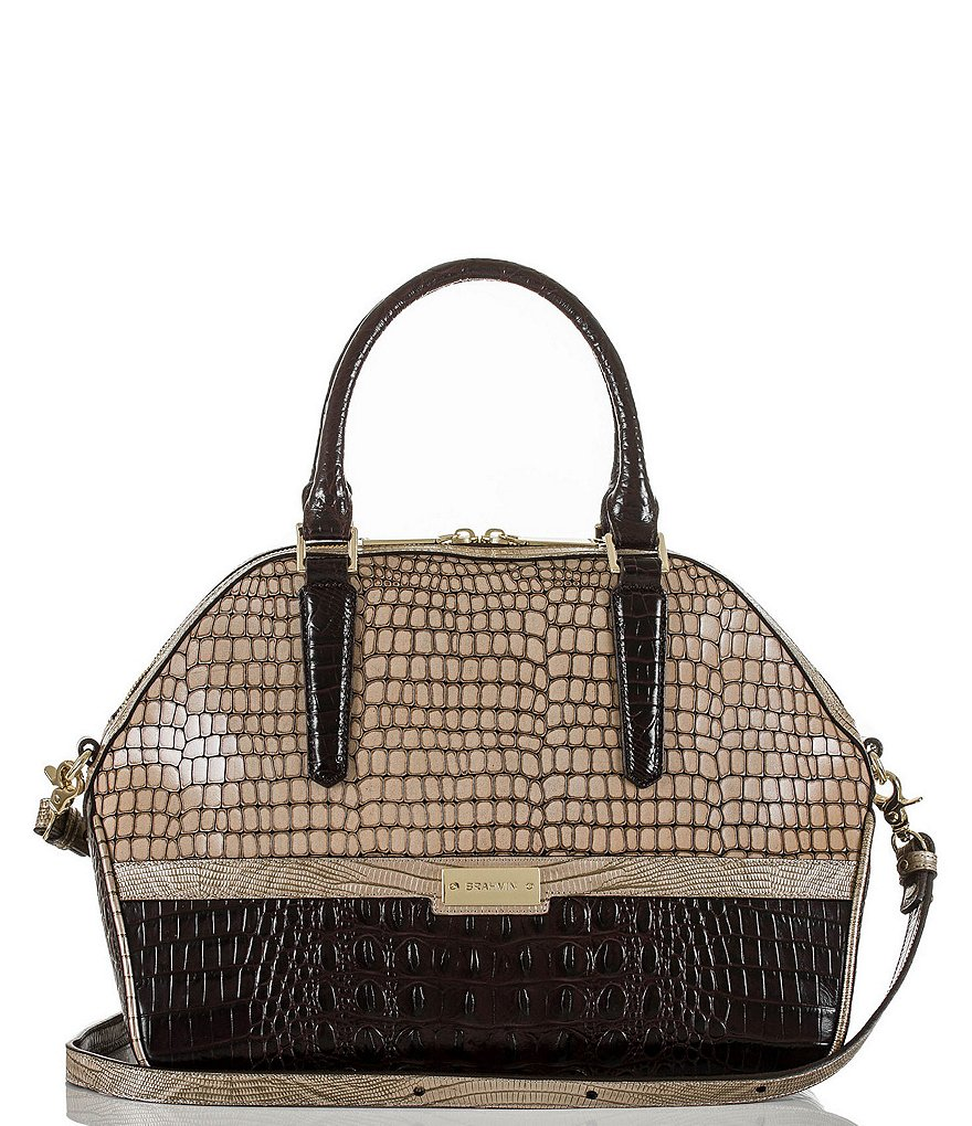 Brahmin Dynasty Collection Hudson Satchel