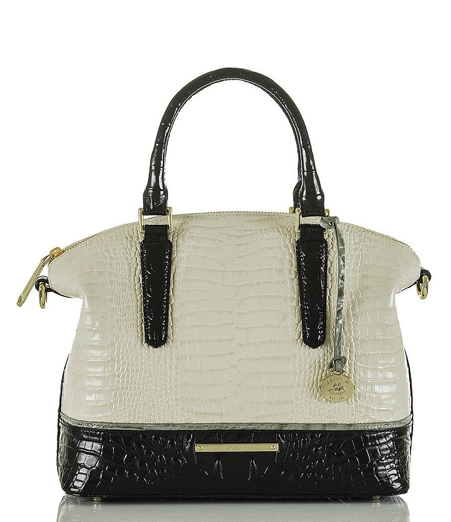 Brahmin Tri-Texture Collection Duxbury Satchel