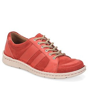 Born Mimas Leather & Suede Lace-Up Sneakers