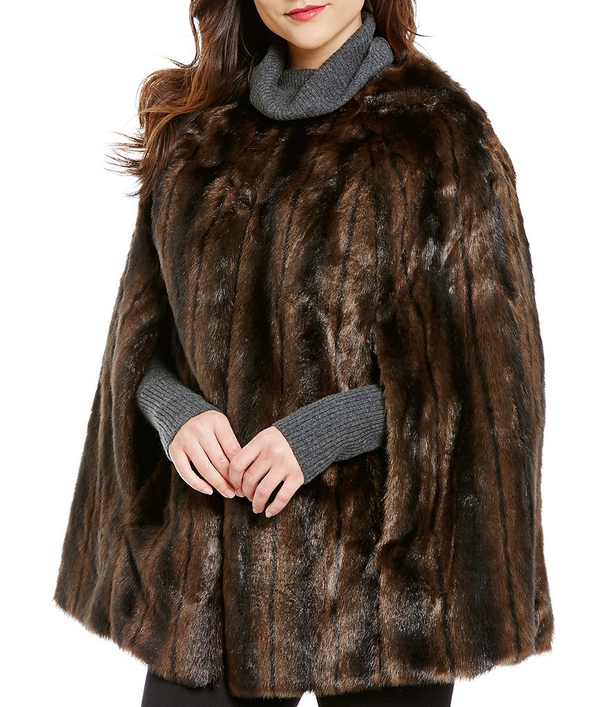 Ruyi Faux-Fur Cape