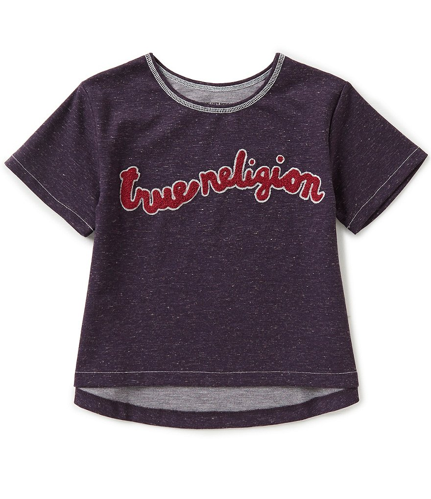 True Religion Big Girls 7-16 Branded Embroidery Top