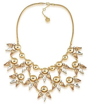 Trina Turk Sparkle and Shine Statement Frontal Necklace