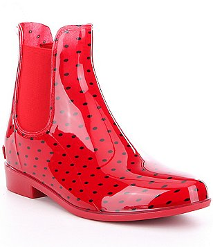 Lauren Ralph Lauren Tally Waterproof Rubber Pull-On Rain Booties