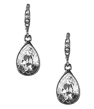 Givenchy Pear Drop Earrings