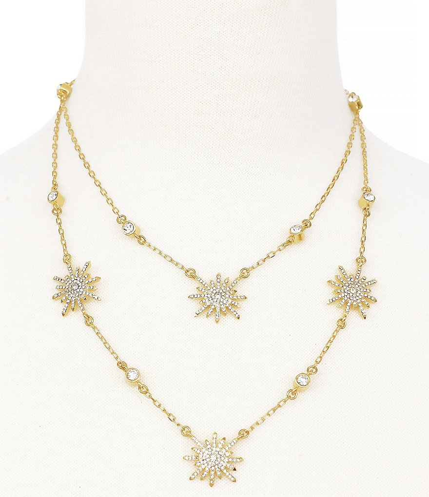 Vince Camuto On Pointe Starburst Multi-Strand Station Necklace