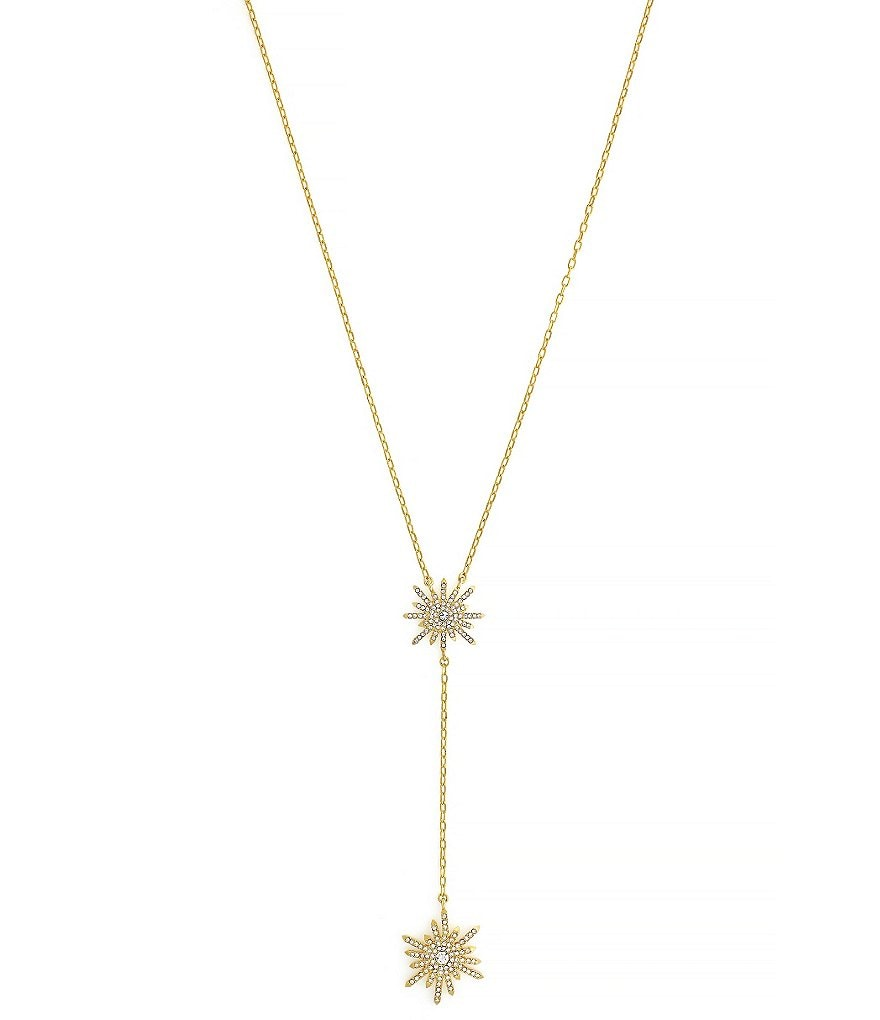 Vince Camuto On Pointe Starburst Y-Necklace