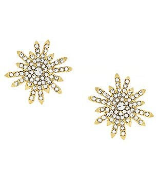 Vince Camuto On Pointe Starburst Stud Earrings