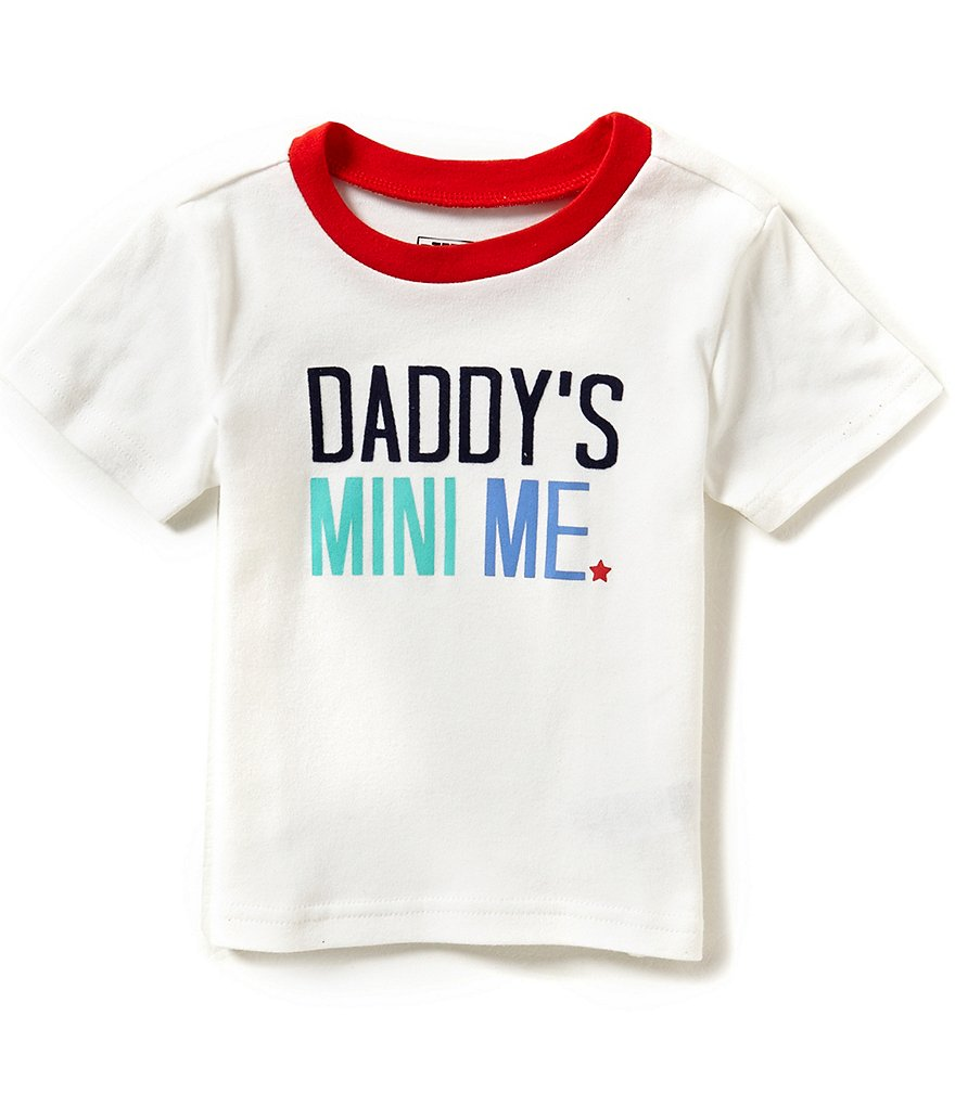 Baby Starters Baby Boys 12-24 Months Daddy´s Mini Me Short-Sleeve Tee