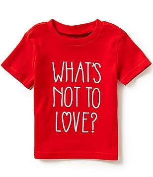 Baby Starters Baby Boys 12-24 Months What's Not to Love? Graphic Tee